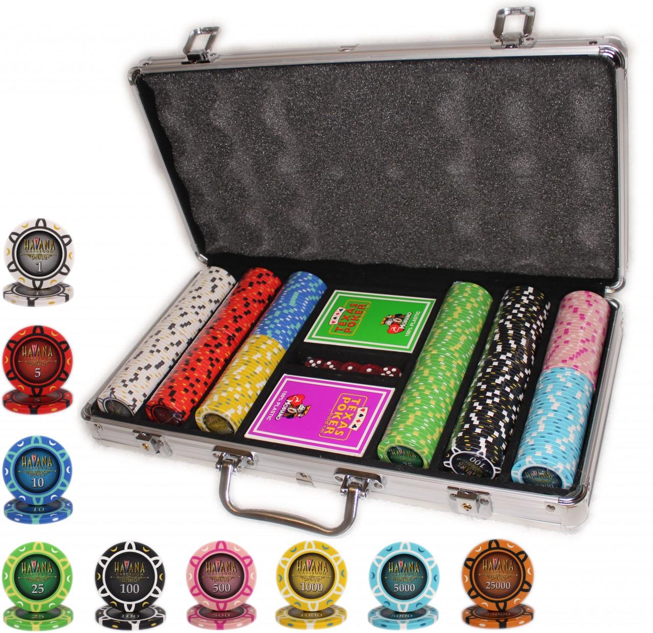 Покерный набор Havana 300