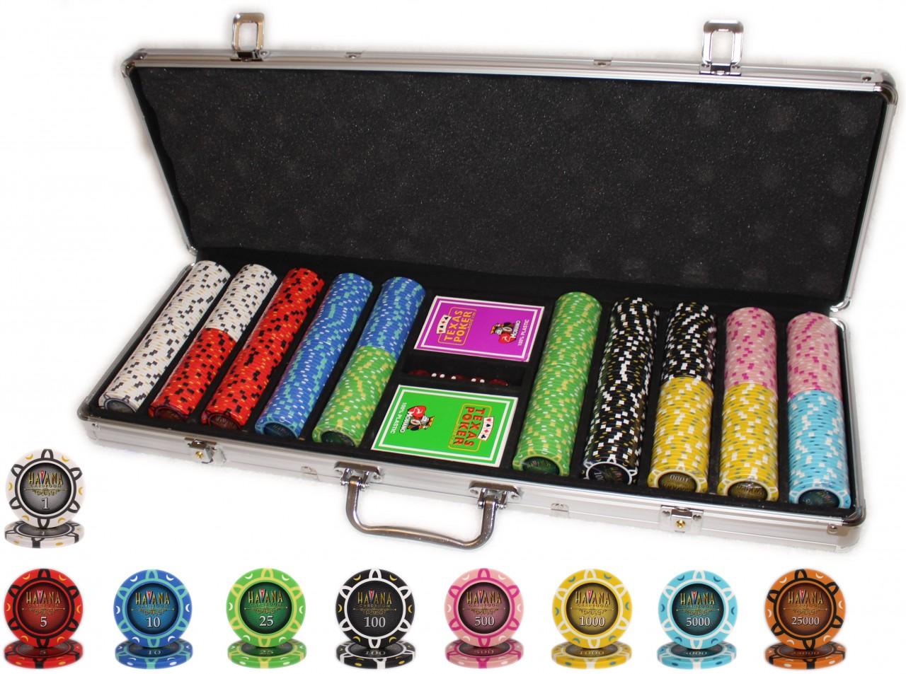 Покерный набор Havana 500