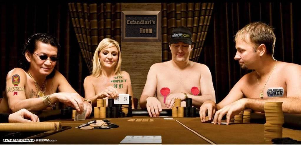 Играют ли в покер на раздевание онлайн