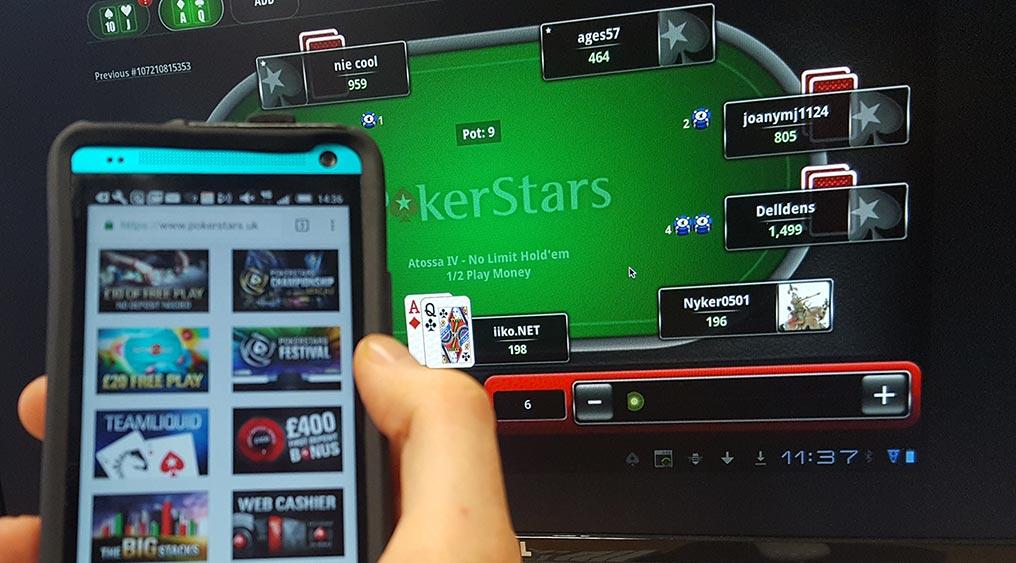 Как перевести условные фишки в Покер Старс другому игроку