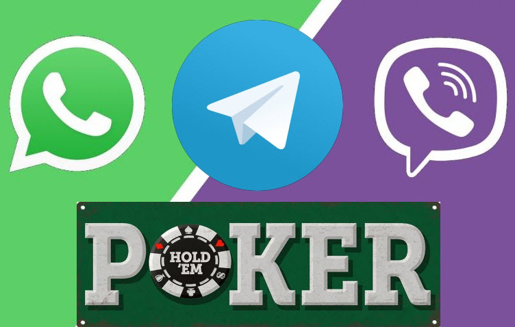 Как присоединиться к группе Viber, Telegram или Whatsapp моего любимого покер-клуба