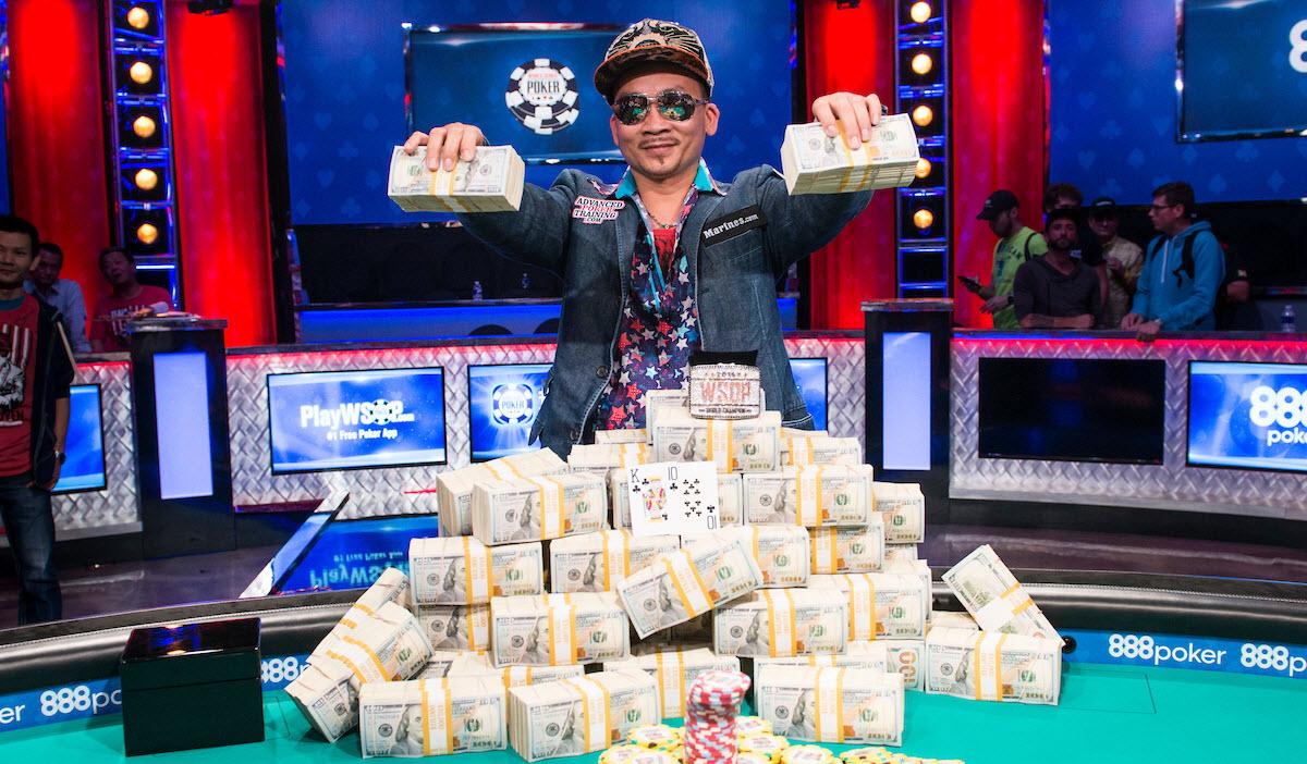 Винрейт профессиональных покеристов
