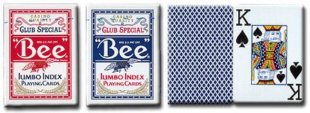 оригинальные игральные карты Bee