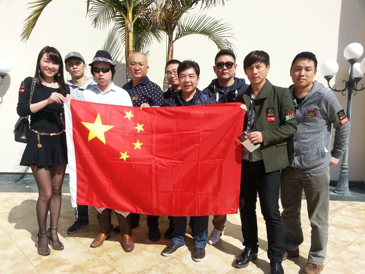 китайские игроки в покер