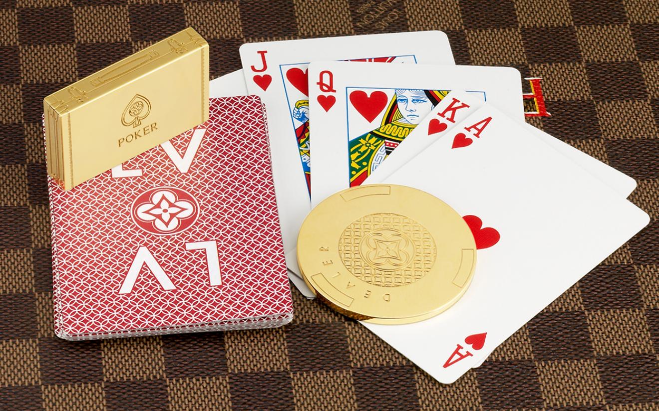 Игральные карты Louis Vuitton