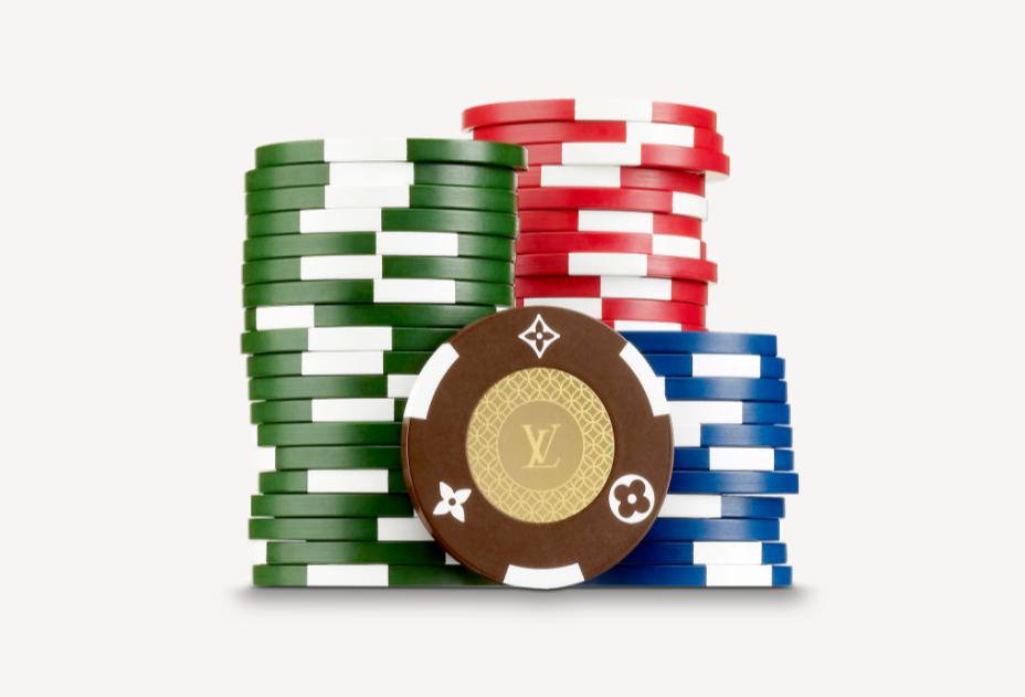 Покерные фишки Louis Vuitton