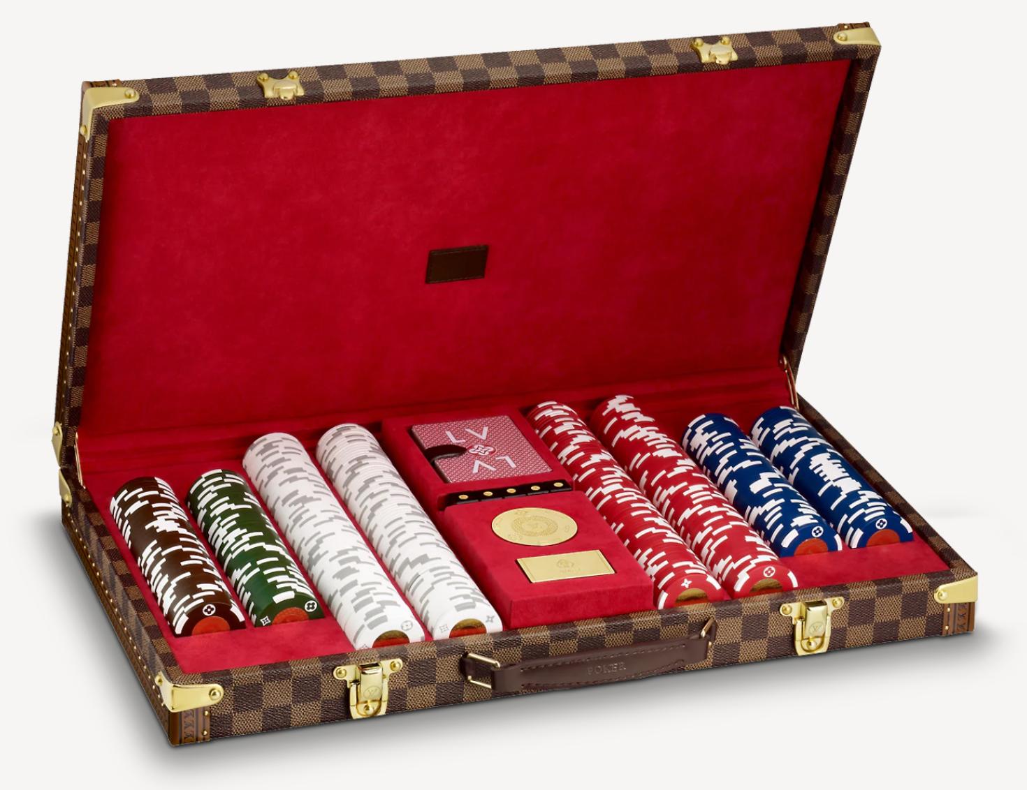 Самый дорогой покерный набор от Louis Vuitton