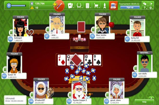 Мини-игры в покер