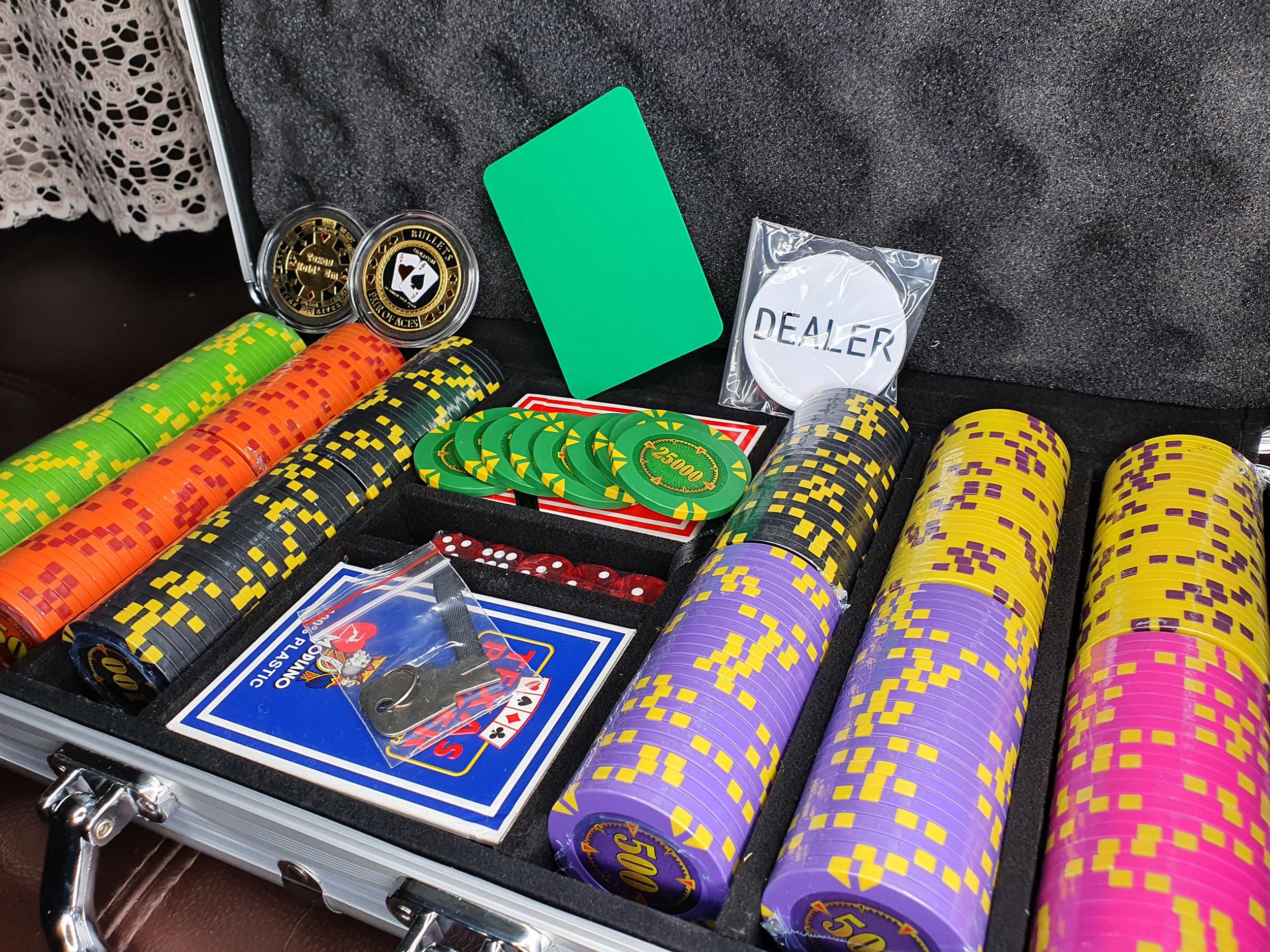 Набор для покера Compass на 300 жетонов с фишками на выбор клиент Алексей из Бахмута