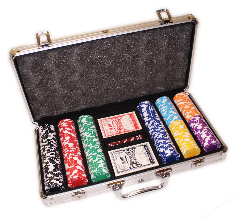 Набор неценовых фишек для игры в покер Style M 300
