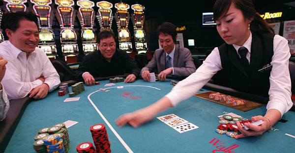 покер в Китае
