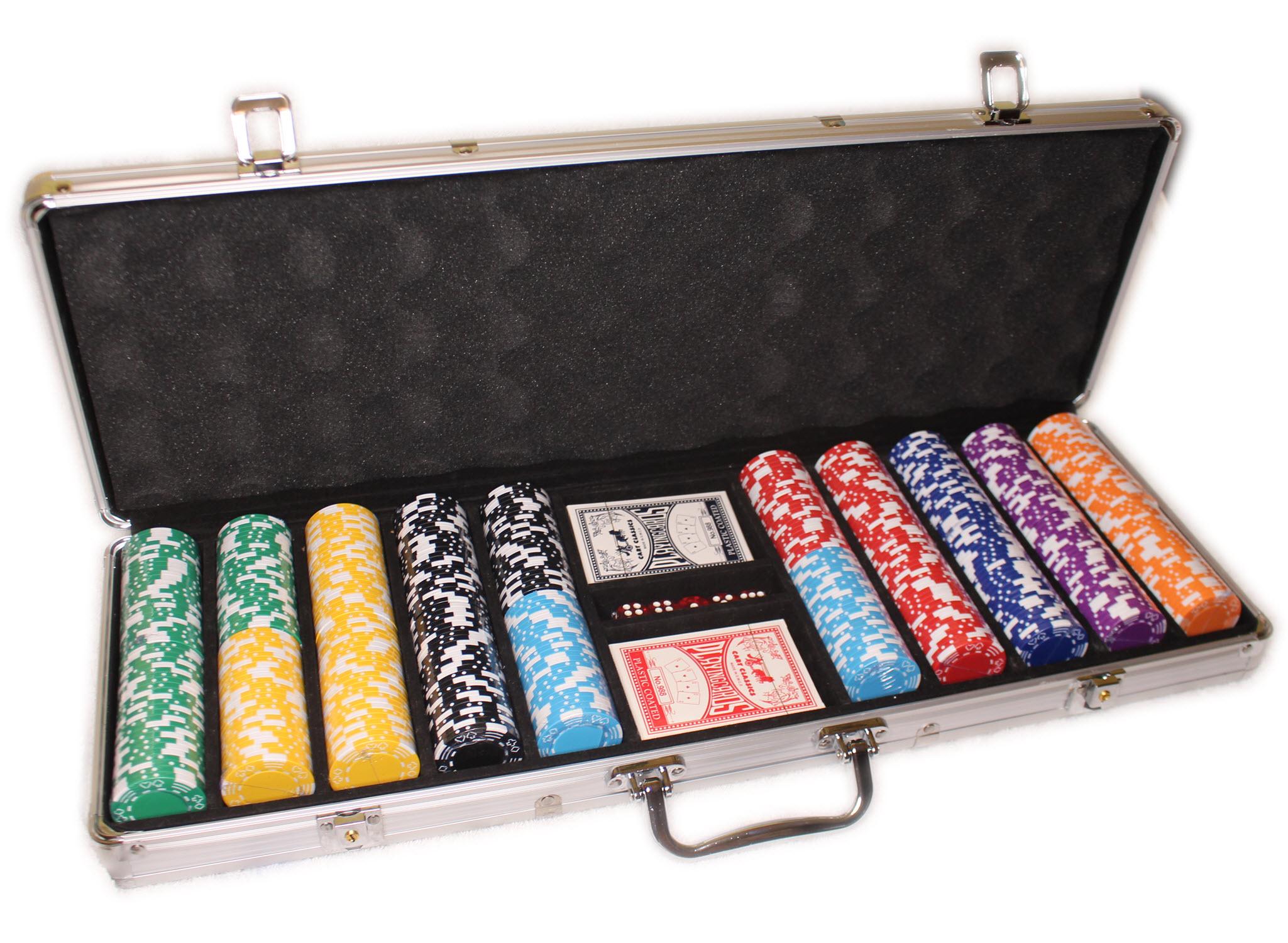 Style M 500 набір покерних фішок без номіналу