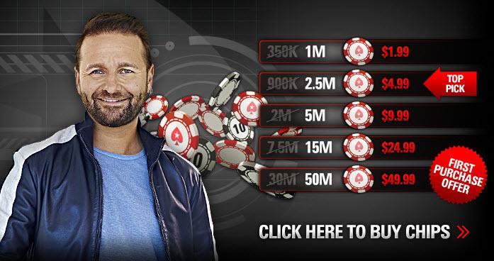 Покер Старс условные фишки - как играть