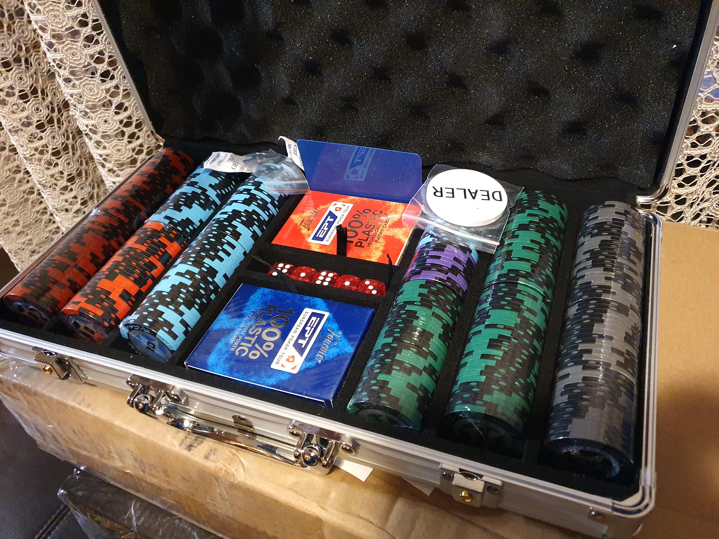 Покерный набор PokerStars 300 отправлен в город Одесса