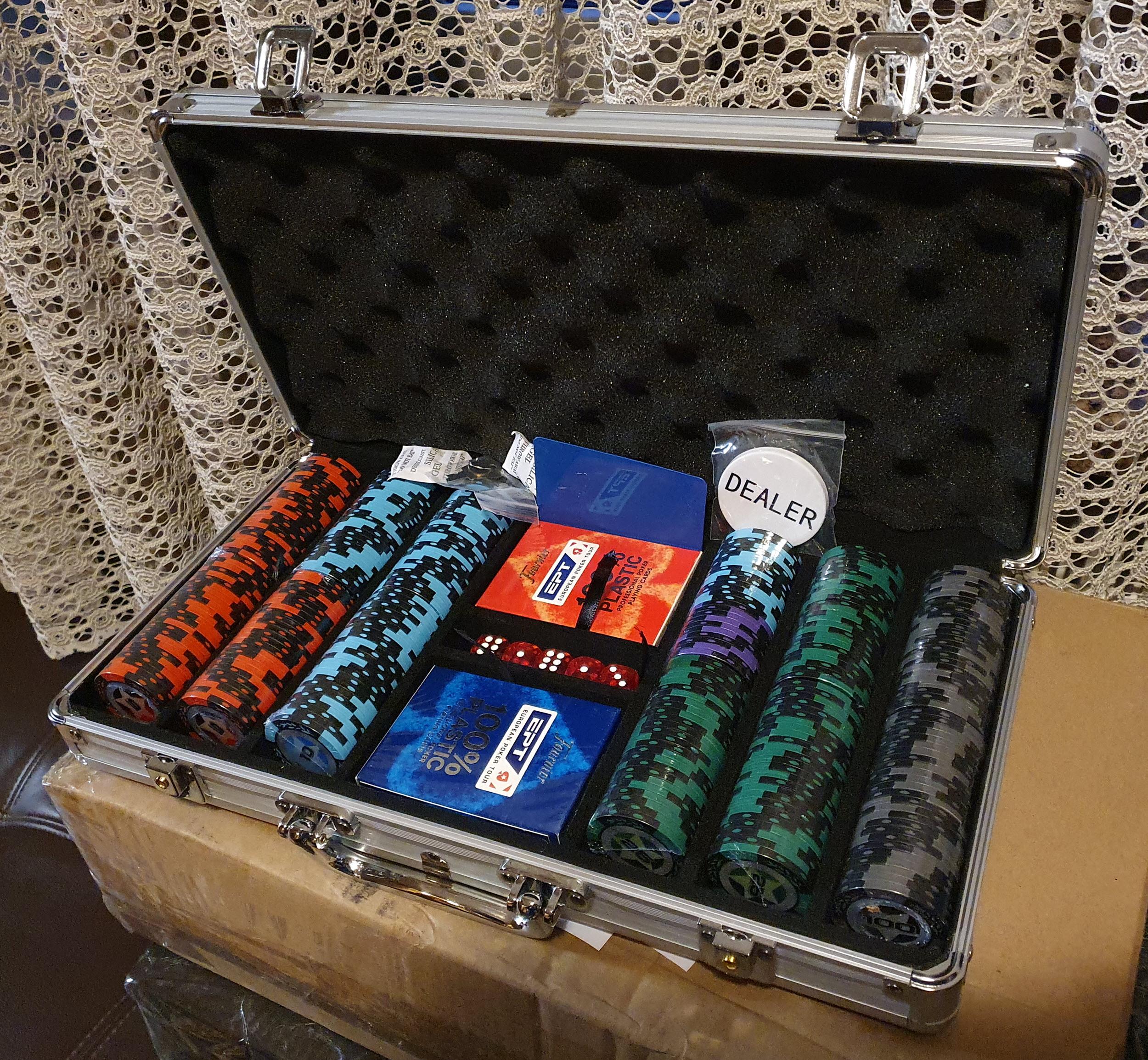 Покерный набор PokerStars 300 отправлен в город Одесса для Катерины