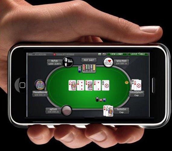 покер старс на айфон