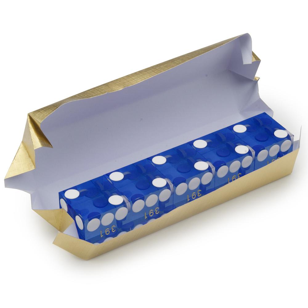 Правильное расположение точек на игральной кости кубике