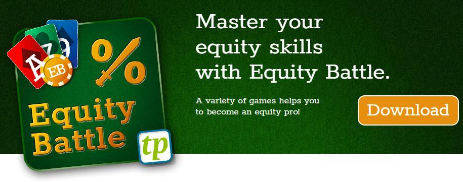 Програма тренажер для покера Equity Battle
