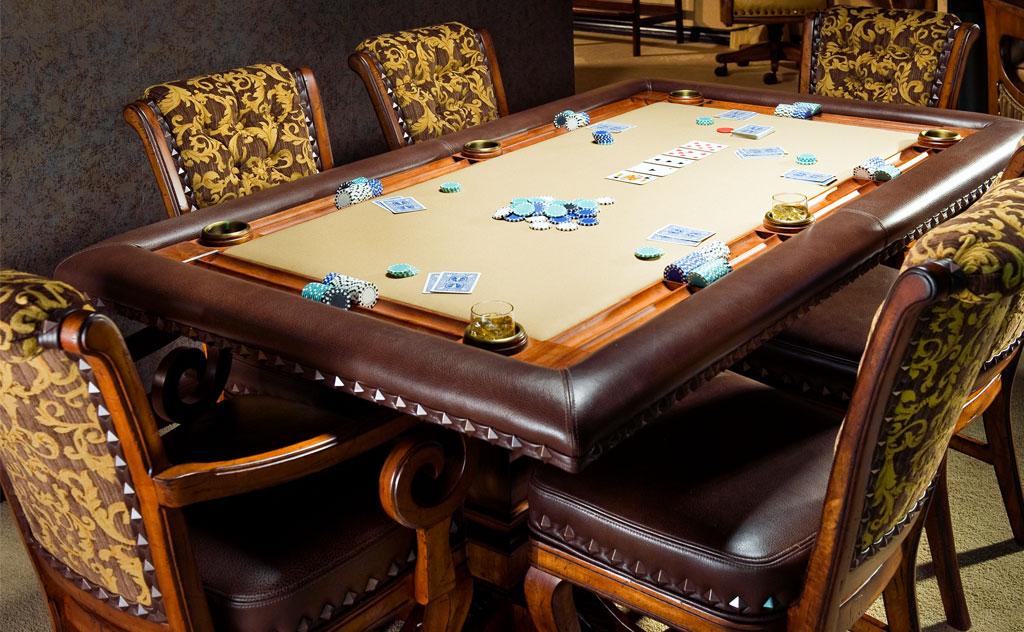 Размеры профессионального стола для покера