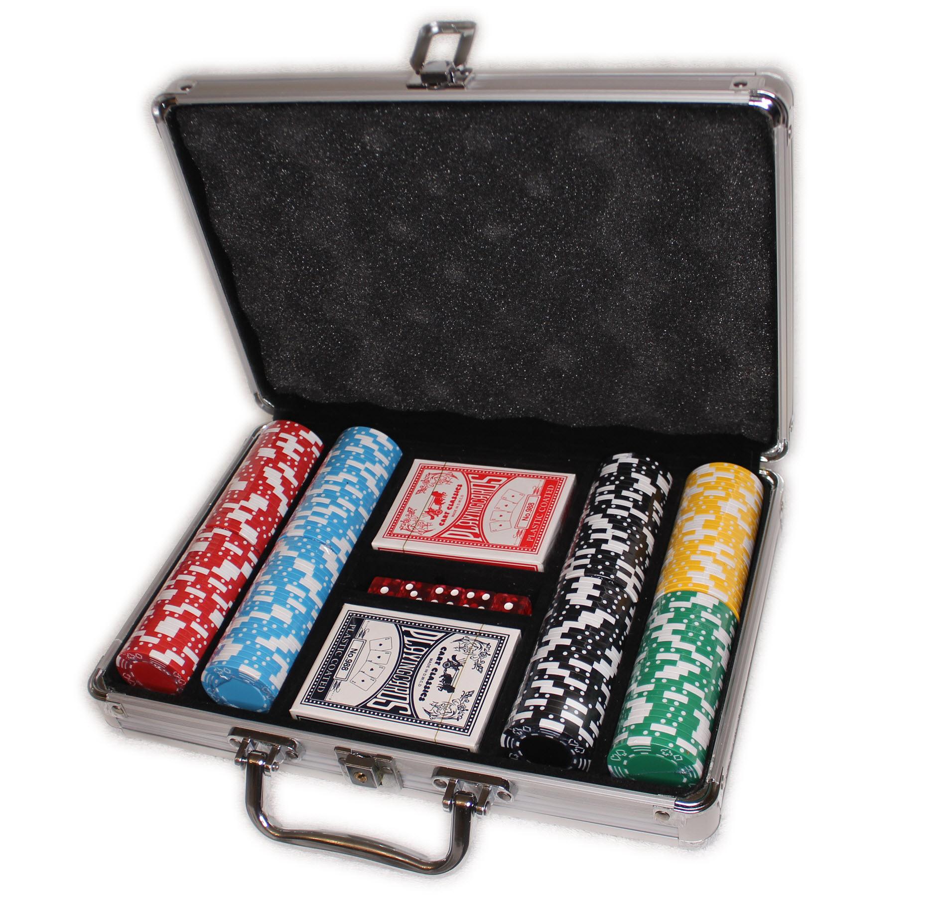Style M 200 набор покерных фишек без номинала