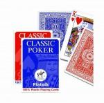 ����������� ����� Piatnik 100% Plastic Poker ������ 55 ��.