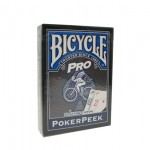 Карты Bicycle Pro PokerPeek - Blue
