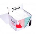 Fournier 2818 Блок (12 колод) 100% пластиковых карт 6 зеленых / 6 оранжевых