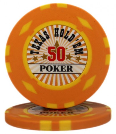"Фішка ""Texas HoldEm Poker"" номінал 50"