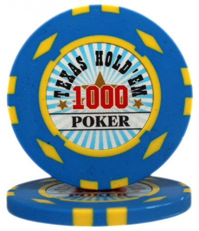 "Фишка ""Texas HoldEm Poker"" номинал 1000"